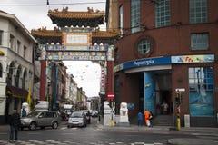 Chinatown i Aquatopia w Antwerp Obrazy Royalty Free