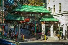 Chinatown i San Francisco Arkivbilder
