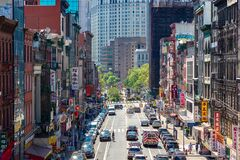 Free Chinatown In New York City Stock Photography - 190396432