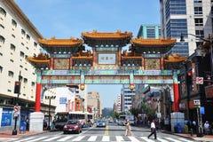 Chinatown In Washington DC, USA Stock Photography