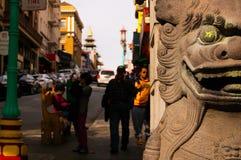 chinatown ingång till Royaltyfria Bilder