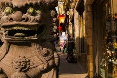 chinatown ingång till Royaltyfri Fotografi