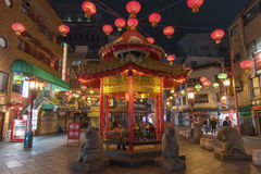 chinatown japan kobe Royaltyfri Bild