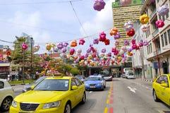 Chinatown jesieni festiwal Obrazy Royalty Free