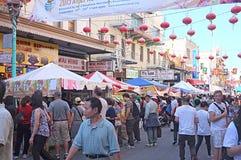 Chinatown jesieni księżyc Roczny festiwal Zdjęcia Stock