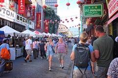 Chinatown jesieni księżyc Roczny festiwal Obrazy Stock