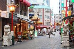 chinatown kobe Royaltyfri Foto