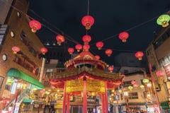 Chinatown in Kobe, Japan stockfoto