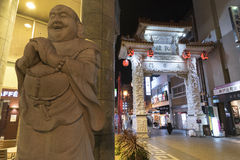 Chinatown in Kobe, Japan Stock Foto's