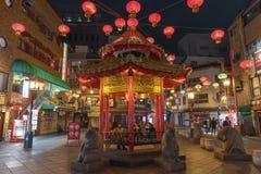 Chinatown in Kobe, Japan lizenzfreies stockbild