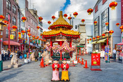 Chinatown, Kobe, Japan Royalty Free Stock Photography