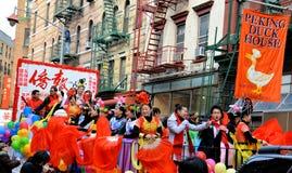 chinatown księżycowy nowy parady rok Zdjęcia Royalty Free