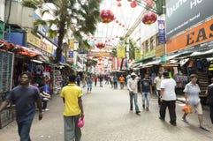 Chinatown, Kuala Lampur Royalty Free Stock Photos