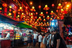 Chinatown in Kuala Lumpur Royalty Free Stock Images