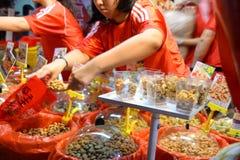 Chinatown a la víspera del Año Nuevo chino Fotografía de archivo libre de regalías