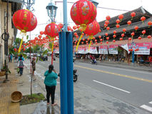 Chinatown Royalty Free Stock Photography