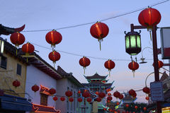 Chinatown lanterns Royalty Free Stock Image