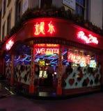 Chinatown-Lichter lizenzfreie stockfotografie