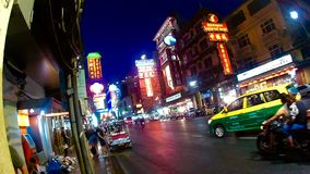 Chinatown. Light night city Stock Image