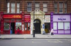 chinatown london royaltyfri fotografi