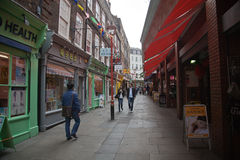 Chinatown in London Stock Image