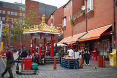 Chinatown in London Royalty Free Stock Images