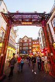 Chinatown in London England Stock Images
