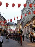 Chinatown in London, England Stock Photography