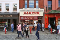 Chinatown London Stock Images