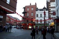 Chinatown London Stock Image
