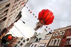 Chinatown, Londres central, Inglaterra Imagens de Stock