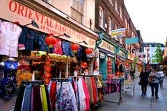Chinatown, Londyn - zdjęcie stock