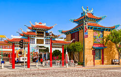Chinatown In Los Angeles Royalty Free Stock Photography