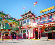Chinatown, Los Angeles, California Royalty Free Stock Images