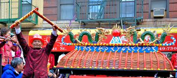 Chinatown Lunar New Year Parade Stock Photography