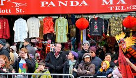 Chinatown Lunar New Year Parade Royalty Free Stock Photos