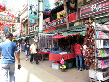 Chinatown Malaysia, Petaling Street Royalty Free Stock Image