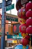 Chinatown, Manhattan photographie stock