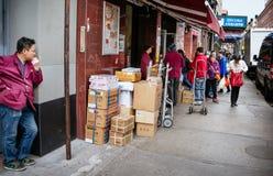 Chinatown, Manhattan, New York, Etats-Unis photos stock