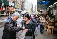 Chinatown, Manhattan, New York, Stati Uniti immagine stock