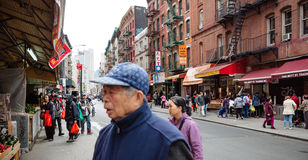 Chinatown, Manhattan, New York, Verenigde Staten Royalty-vrije Stock Afbeelding