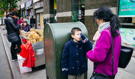 Chinatown, Manhattan, New York, Verenigde Staten Royalty-vrije Stock Foto