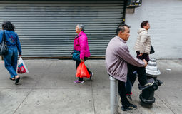 Chinatown, Manhattan, New York, Verenigde Staten Stock Foto