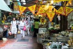 Chinatown market in Bangkok Stock Photo