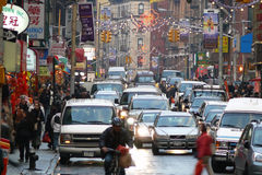 chinatown miasto nowy York Obraz Stock