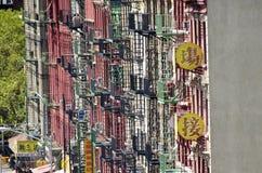 chinatown miasto nowy York Fotografia Stock