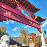 Chinatown, Montreal stock foto