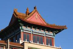 chinatown montreal Arkivbilder