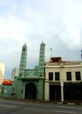 chinatown moské s singapore royaltyfria foton