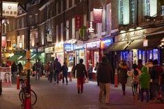 chinatown natt Royaltyfri Bild